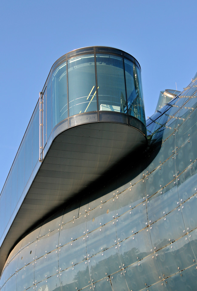 Needle Viewing Platform, Graz Kunsthaus