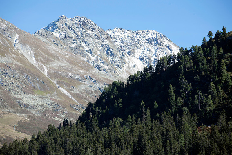Flexenpass.  Near Lech am Arlberg, Austria.  East Tyrolia. September 2012.