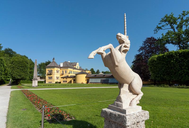 Unicorn Statue, Hellbrunn Palace