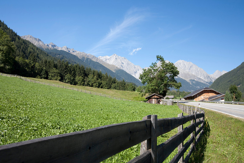 Near St. Veit in Defereggen, Austria.  Near National Park Hohe Tauern.  East Tyrolia.  September 2012.