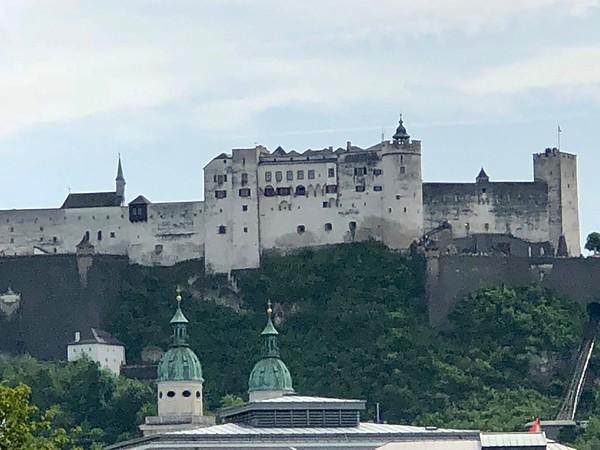 Hohenwerfen Fortress - background for do, re, mi