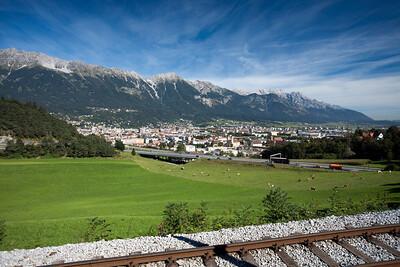 Innsbruck, Austria.    East Tyrolia. September 2012