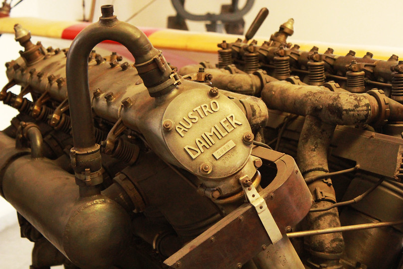 Engine from Austro Daimler Aeroplane