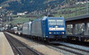 With a steel service on 13 November 2006 TXLogistic 185-514 and 185-539 hurry through Matrei