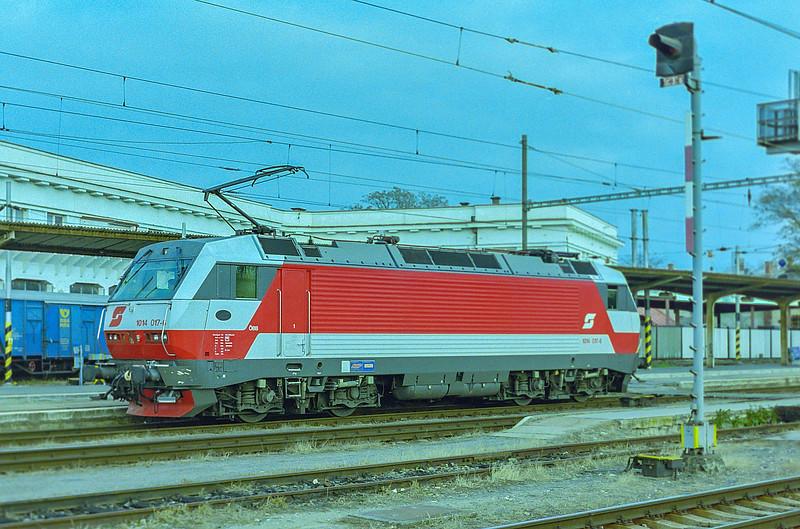 OBB 1014-017 Breclav 7 November 2006
