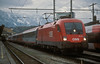On a miserable Sunday afternoon of 12 November 2006 OBB 1116.117 sits at Salzburg Hbf
