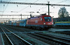 OBB 1116.038 runs into Sopron with a service for Wien on 10 November 2006