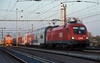OBB 1116-032 leaves Breclav with a double deck service on 7 November 2006