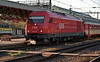 OBB 'Hercules' 2016.097 runs into Sopron with a cross-border working on 10 November 2006