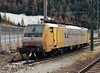 Stabled at the Austrian end of Brenner station on 13 November 2006 was Siemens Dispolok ES64 F4-001, a multi voltage loco on hire to RTC