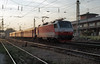OBB 1014.005 brings a Eureggio service for Tatabanya into Gyor in the late afternoon of 8 November 2006