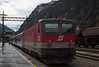 OBB 1144.218 has arrived at Brenner with its local service from Innsbruck on 13 November 2006