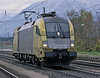 A grubby Dispolok ES64 U2 006 returns from Brenner passing Brixlegg on 28 October 2008