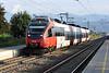 OBB 4024-116 arrives at Klagenfurt Annabichl on 22 September 2011