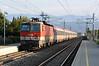 OBB 1044-064 passes through Klagenfurt Annabichl on 22 September 2011