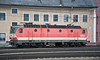 Still in a varsion of the older livery was 1144 092 at Linz 21 February 2013