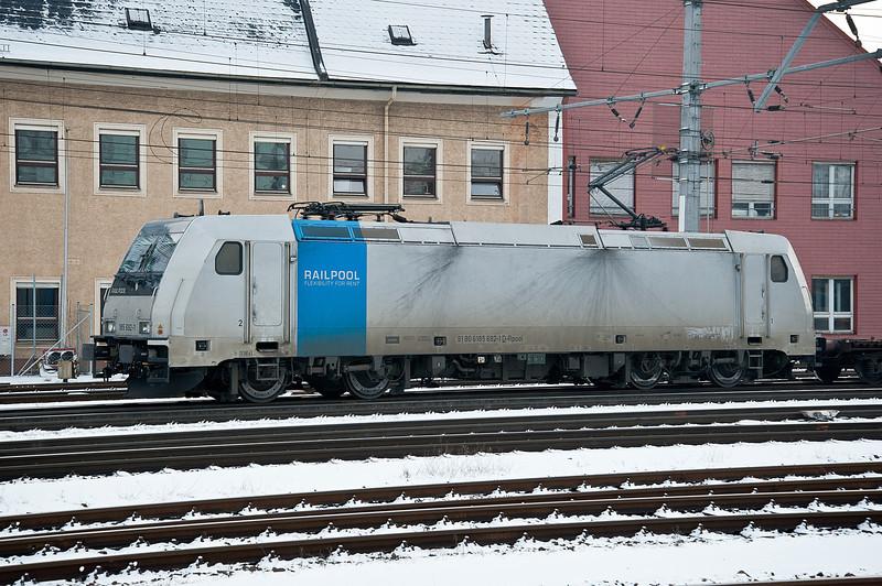 Railpool 185 692 Linz 22 February 2013