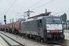 MRCE ES64 F4-452 Wien Meidling 3 September 2014