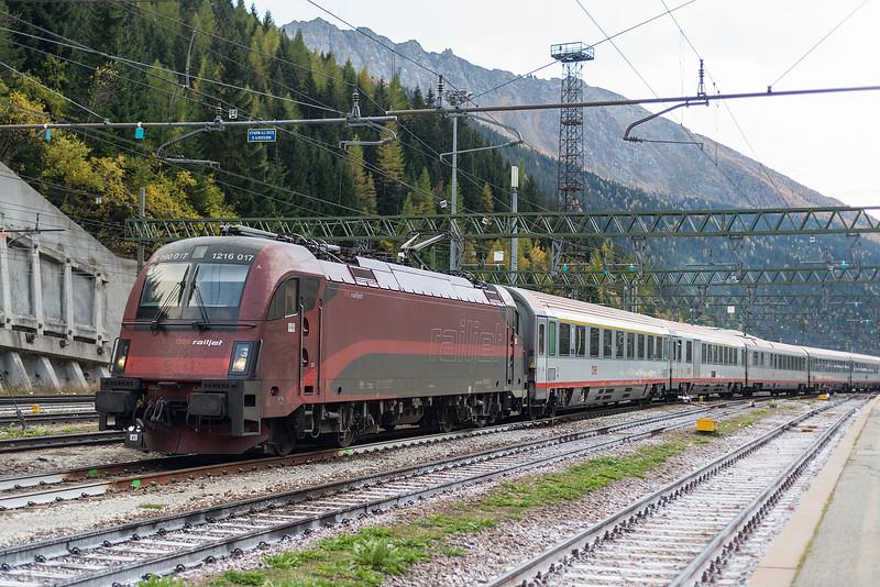 OBB 1216-017 Brenner 23 October 2018