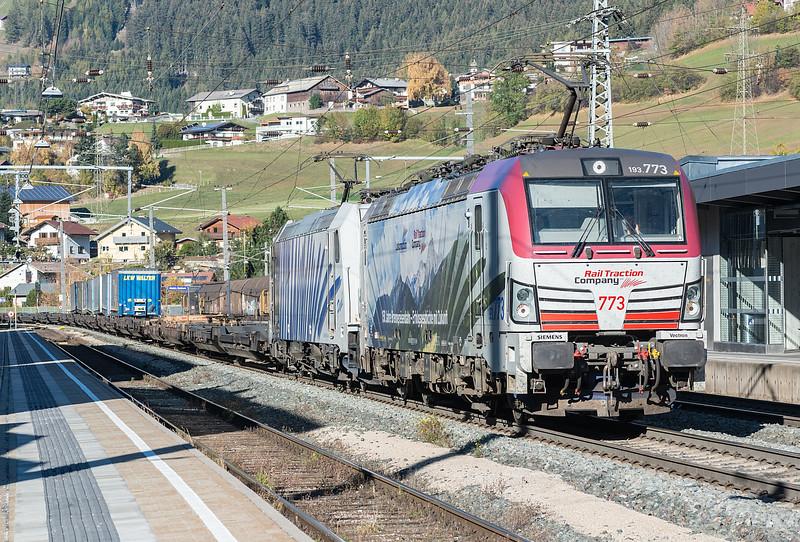RTC 193-773 + Lokomotion 185-661 Matrei 22 October 2018