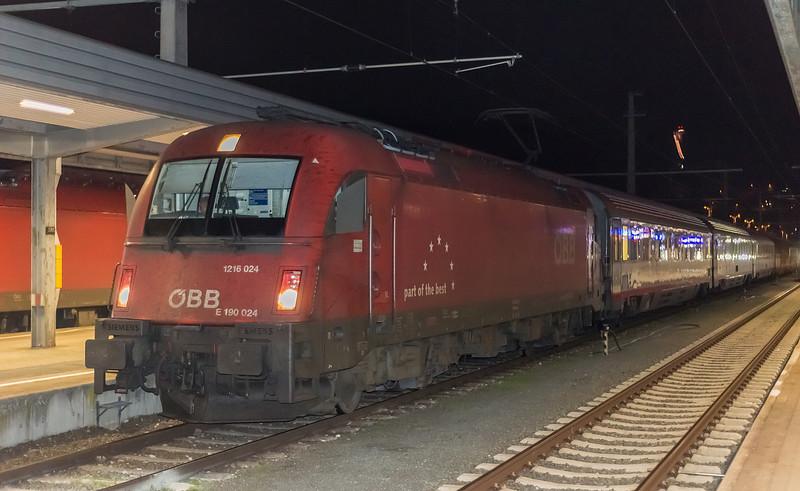 OBB 1216-024 Innsbruck 23 October 2018