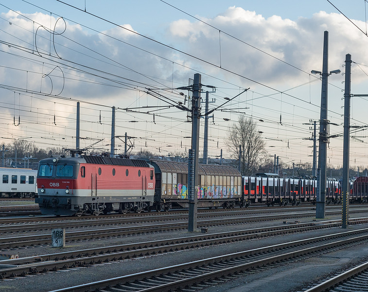OBB 1144-109 Linz  21 March 2018