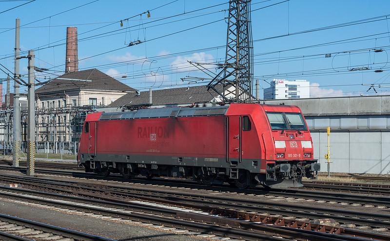 DB 185-301 Linz  21 March 2018