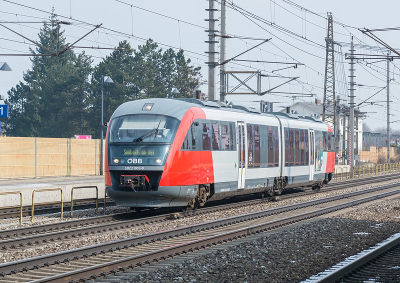 OBB 5022-005 Marchtrenk  21 March 2018