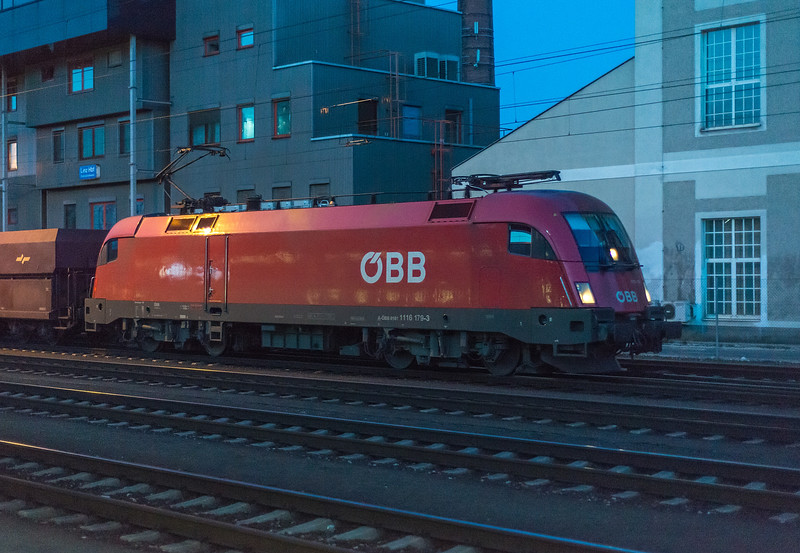 OBB 1116-179 Linz  21 March 2018