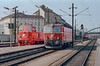 OBB 2067-084 + 1044-120 Wien West 10 October 1987