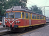 MBS railcar ET10.104 waits at Bludenz on 27 September 1989