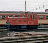 OBB small shunter 2060.008 is in the yard at Graz depot on 18 May 1989