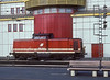 OBB 2048.015 (an ex-DB V100) goes about its business at St. Polten Hbf. on 5 November 1993