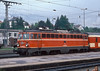 OBB 1042.600 arrives at Villach Hbf. on 19 May 1989
