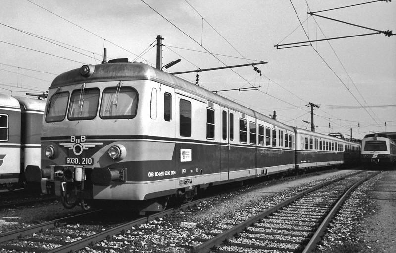 OBB 6030,210 at Wien FJB Depot on 20 May 1989