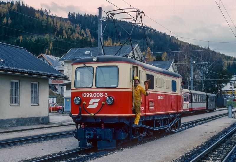 OBB 1099-008 Mariazell 5 November 1993