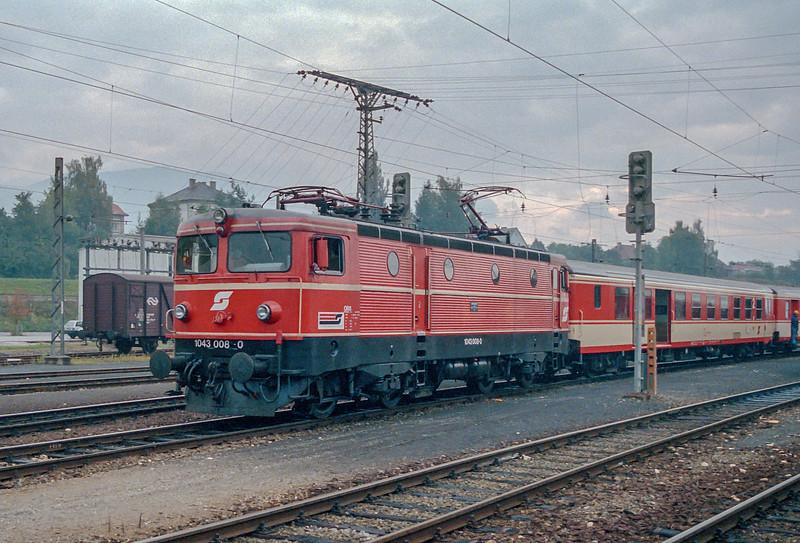 OBB 1043-008 Villach 11 October 1987