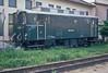 One-off OBB narrow-gauge diesel 2093.001 sits alongside St. Polten Alpenbahnhof depot on 22 May 1989