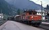 1020.039 works a freight service through St. Anton im Arlberg on 27 September 1989