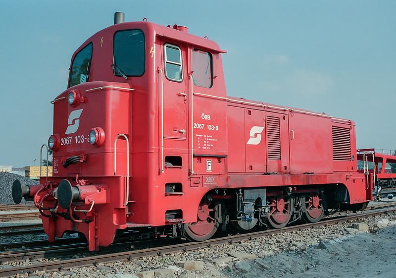 OBB 2067-103  'Austria 150' Wien Nord