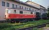 OBB 1099.004 St. Polten Alpenbahnhof  22 May 1989
