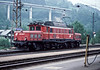 In the early morning of 17 May 1989 OBB 1020-008 runs light engine through Bischofshofen