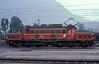 OBB 1020.039 runs through the station at Bludenz on 27 September 1989