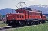 OBB 1020.014 pauses between banking duties at Saalfelden on 23 May 1989