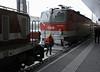1163 003 & 1144 058, Salzburg, Tues 3 February 2015 1 - 0812.  The 1163 arrives to detach the failed 1144.