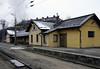 Passing St Polten Alpenbahnhof station, Mon 2 February 2015 - 0918