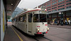 Tram 81, 21 June 2006 1 - 1655: Innsbruck   Waiting outside the main station with a service to Fulpmes.