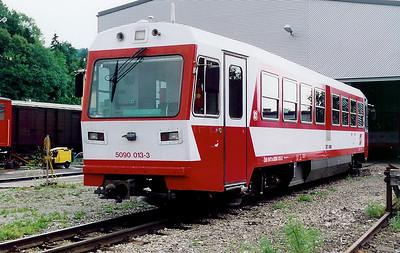 5090 013 at Waidhofen an der Ybbs on 10th July 1999