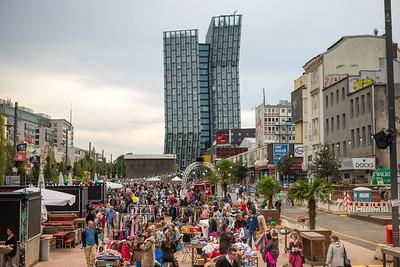 Spielbudenplatz Flohmarkt
