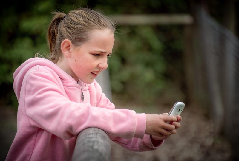 Faith & Phone at Exmoor Zoo